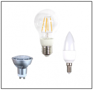 LED Bulbs - Candle Bulbs